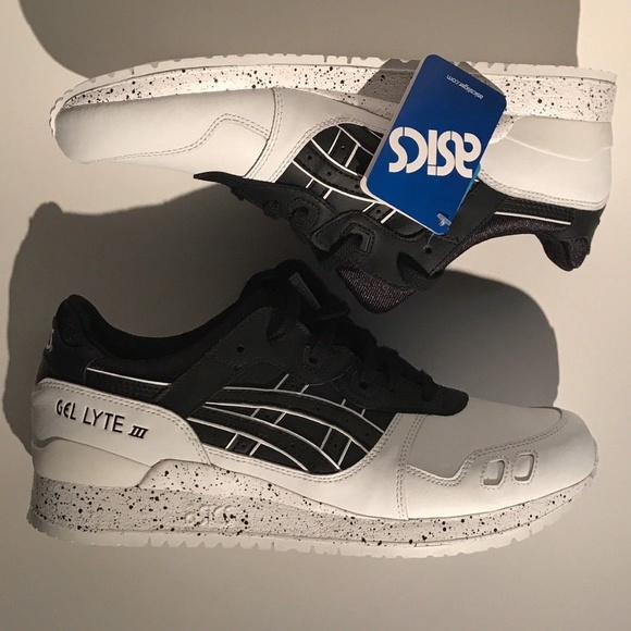 sports shoes 6351c f92e6 Asics Gel Lyte III 3 Black/White Speckle Oreo Pack